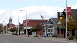 Main Street in Stuart, Nebraska