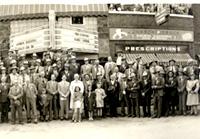Downtown O'Neill, Nebraska in 1945
