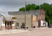Downtown Page, Nebraska