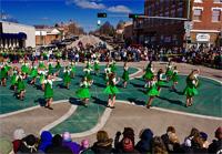 St. Patrick's Day celebration in O'Neill, Nebraska